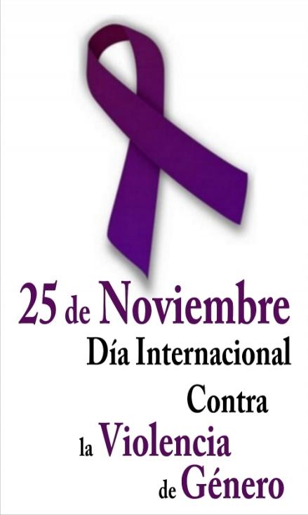 25 Noviembre, Día Internacional contra la violencia de género